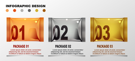 Infographic designs template in cartoon style.
