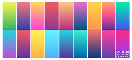 Vector abstract soft gradient background