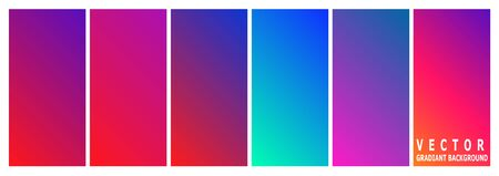 Vector gradient background