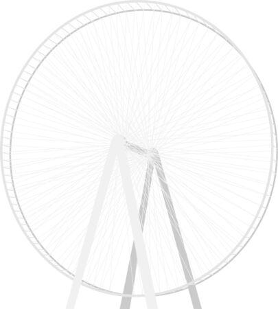 Dubai Eye Illustration Ilustrace