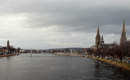 BEAUTIFUL INVERNESS Stock Photo