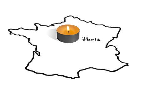 caliphate: Paris. The attack November 14, 2015.