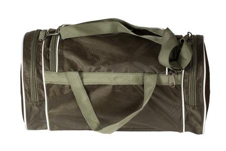 Sports bag. Isolation on a white background Standard-Bild