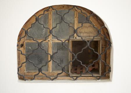 semicircular: Oldfashioned Semicircular Window