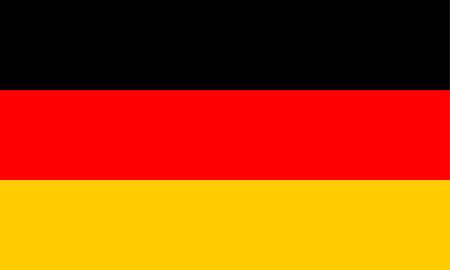 Federal Republic of Germany flag. Vector illustration
