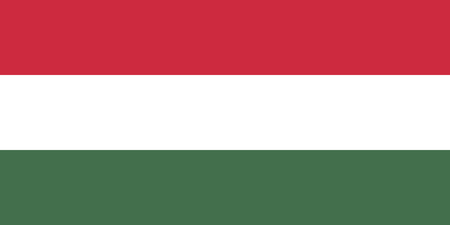 Hungary flag. Official colors. Correct proportion. Vector illustration
