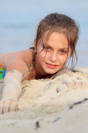 girl on the sea photo