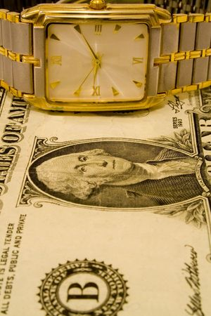 dolar: dolar and clock