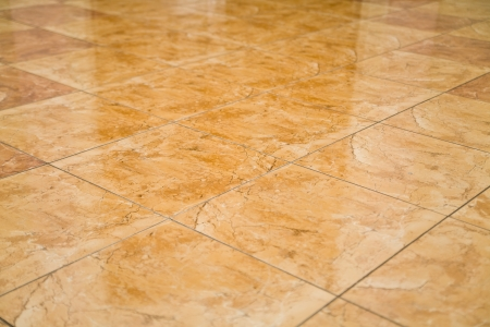 glazed tile on the floor as a background