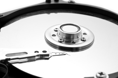 HDD as a background Stock Photo - 13818344