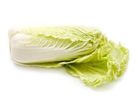 cabbage on a white background photo