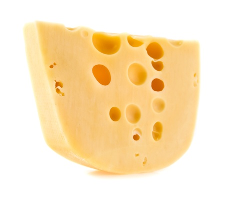 grated cheese: cheese on a white background