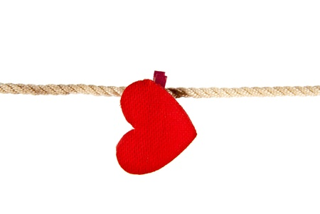 heart on a white background Stock Photo - 15702675