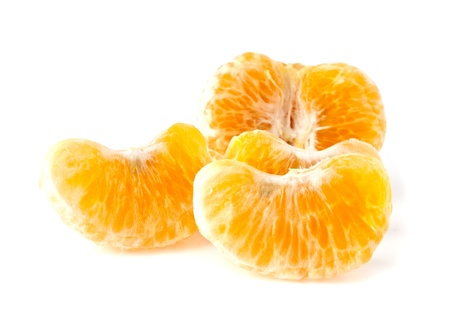mandarine on a white background Stock Photo
