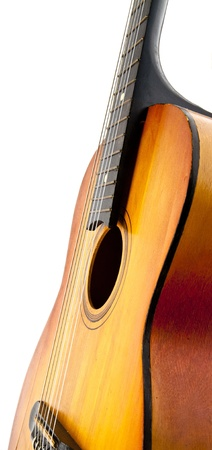 guitar on a white background Stock Photo - 17188425