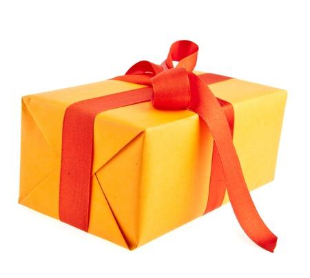 gift isolated on white background Stock Photo - 17254505