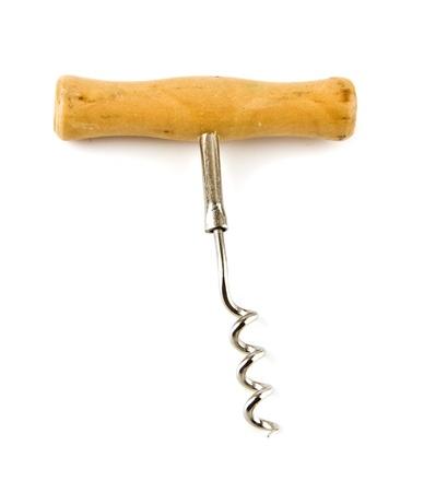 corkscrew on a white background Stock Photo - 17254241