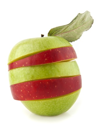 apple on white background Stock Photo - 17517309
