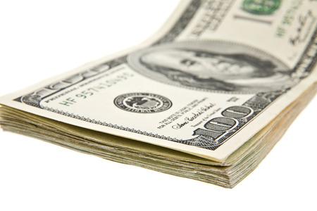 onehundred: dollars on a white background