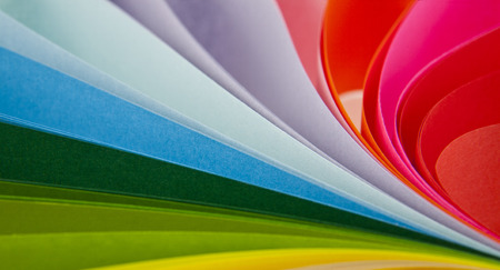 abstraction from the coloured paper as a background photo