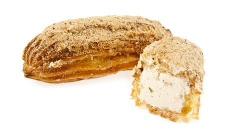 brewing cake on a white background Фото со стока