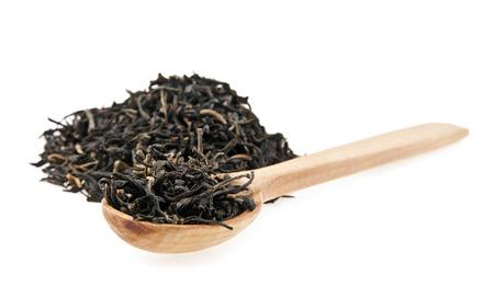 pekoe: tea on a white background Stock Photo