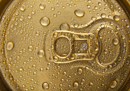 inhibited: drops of water on a gold background