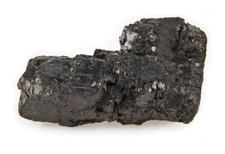 calorific: coal isolated on a white background