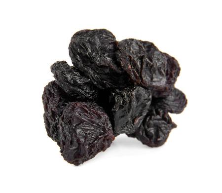 dulcet: raisins on a white background Stock Photo