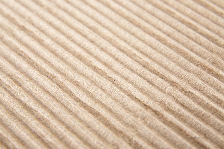 corrugated cardboard: paper corrugated cardboard as background Stock Photo