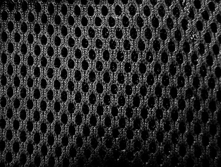 mesh: black mesh fabric as the background