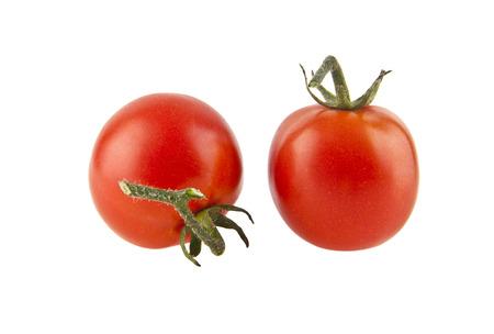 tomatos isolated on a white background closeup Stock Photo