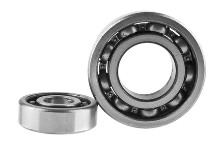 bearings isolated on white background