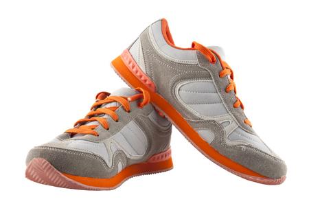 Chaussures de sport isolés sur fond blanc