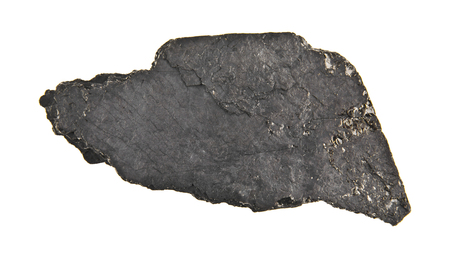 coal isolated on white background closeup Standard-Bild