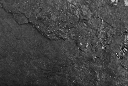 sfondo nero, tagliando lo strato di carbone come sfondo