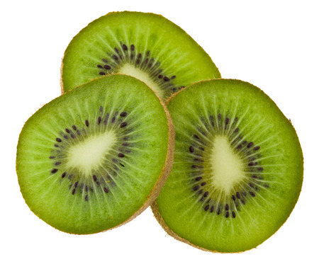 kiwi isolated on white background Stock fotó