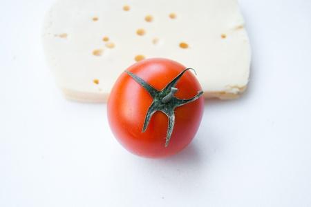 nosh: tomato and cheese