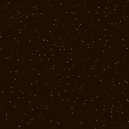 Starry night sky. Stars, sky, night. Vector background.