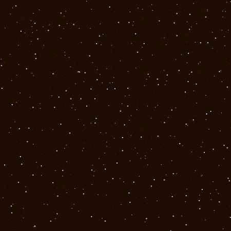 Starry night sky. Stars, sky, night. Vector background.