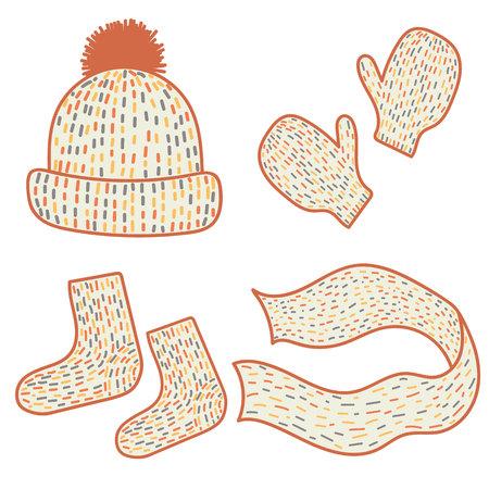 Süße Winterkleidung