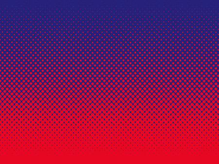 Pop Art vintage vector background. Halftone design