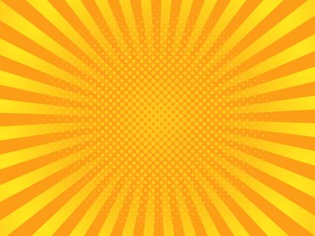 Pop images jaunes images d & # 39 ; art illustration Banque d'images - 97018713