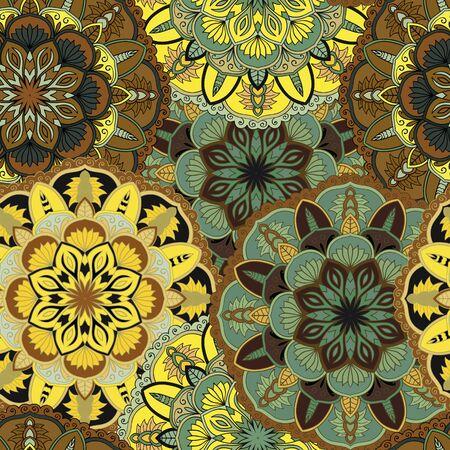 Mandala ornament vector design