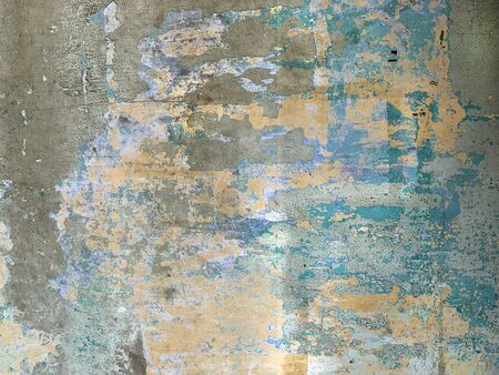 Old Wall Texture. Painted Distressed Wall Surface
