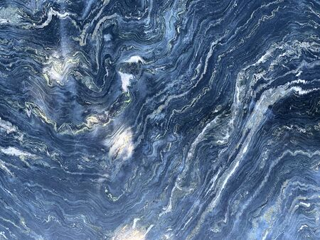Blue dark marble texture for background Фото со стока