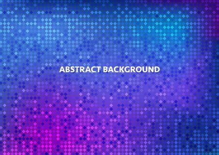 Abstract background. Pixel texture. Vector illustration Ilustracja