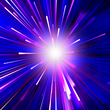 Abstract backdrop background beam beautiful background for design with bright explosion of Christmas dark blue background an explosion of stars glitter design energy explosion festive flare glare glow glowing day of rest   lighted illustration light magic pink and white rays beam shiny sky space