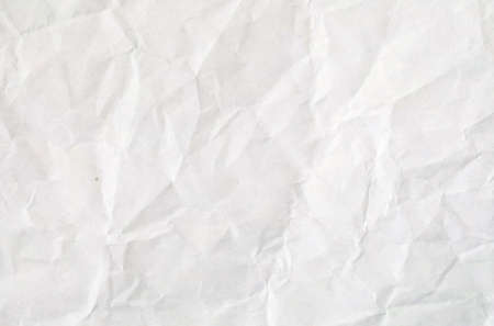 White crumpled vintage paper with copy space and space for text 版權商用圖片