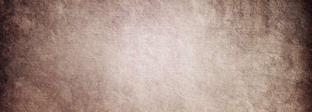 Grunge background of old brown paper with a place for text and a copy of the space Banque d'images